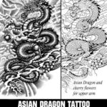 asian dragon tattoo, tattoo template, juno tattoo designs