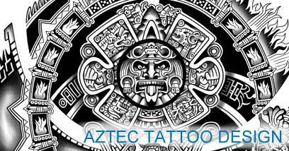 Aztec tattoos & templates| Calendar tattoo | Get yours