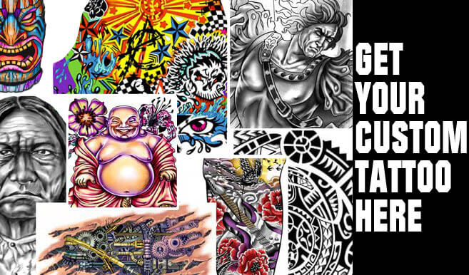 GET A CUSTOM TATTOO DESIGN