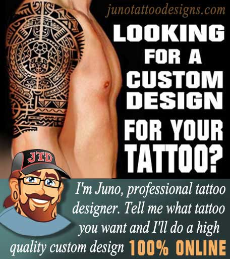 tattoo designer, custom tattoos, online tattoos, juno tattoos