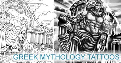 Greek Mythology Tattoos Tattoo designer in this epic style – Tattoo Template