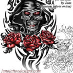 grim reaper tattoo template by juno tattoo designs