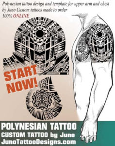 polynesain tattoo, juno tattoo designs