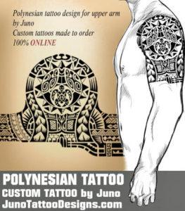 Polynesian Tattoo With Sun And Turtle Create A Custom Tattoo 100