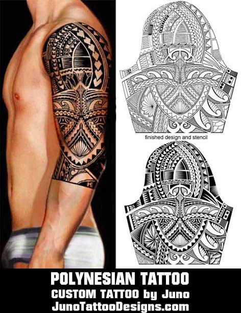 polynesian tattoo template, juno tattoo designs