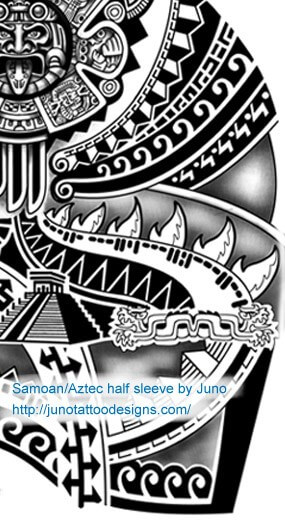 samoan_aztec_tattoo_design