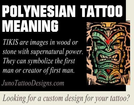 tiky tattoos polynesian symbol meaning - juno