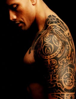 dwayne johnson tattoo the rock samoan tattoo meaning. Black Bedroom Furniture Sets. Home Design Ideas