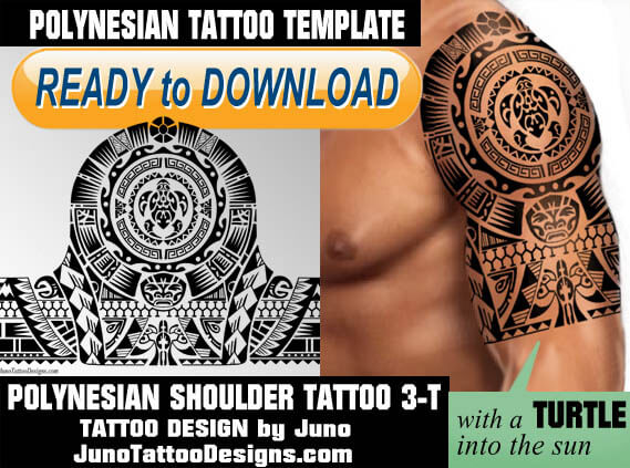 polynesian tattoo, polynesian turtle, tattoo template, juno tattoo designs