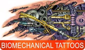 biomechanic tattoo - juno tattoo designs