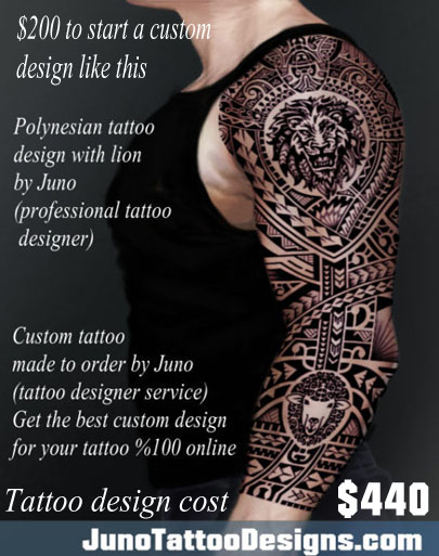 polynesian tattoo, lion tattoo, samoan tattoo, juno tattoo designs, tribal tattoo, arm tattoo