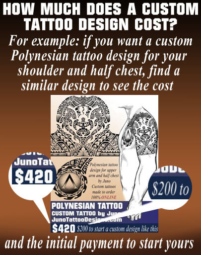 how does much a tattoo design cost? , juno tattoo designs .create your tattoo, polynesian tattoo cost