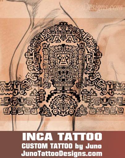 inca tattoo, peruvian tattoo, aztec tattoo, juno tattoo designs,tattoo shop,tattoo studio online
