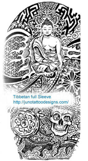 Buddhist Symbols Tattoos