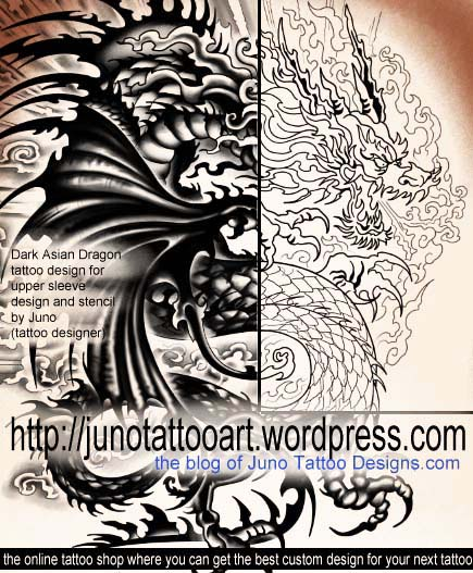 Tattoo Designs Online: Create Your Custom Dragon Tattoo Online Here