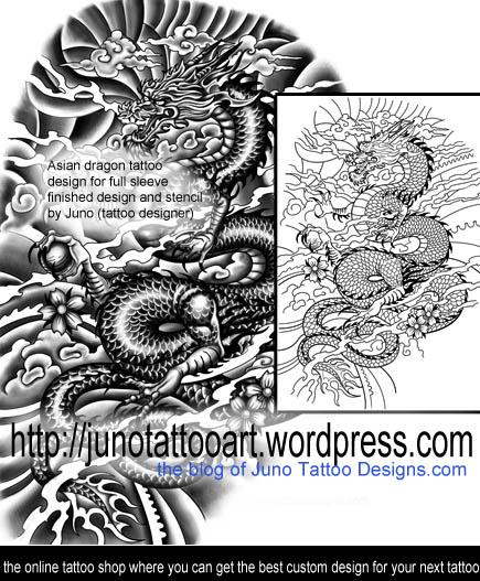dragon tattoos create your custom dragon tattoo online here. Black Bedroom Furniture Sets. Home Design Ideas