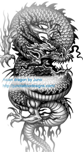 dragon tattoos tattoo meaning how to get a custom tattoo. Black Bedroom Furniture Sets. Home Design Ideas