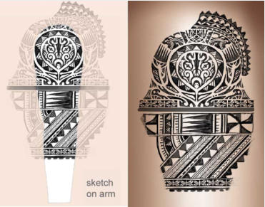 polynesian samoan tattoos meaning symbols tattoo art