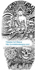 Budha_tattoos_junotattoodesigns.com -