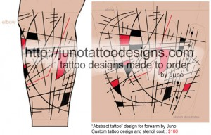 abstract_sleeve_tattoo_by_Junotattoodesigns
