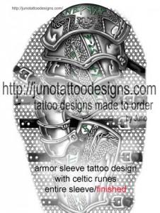 armor_sleeve_tattoo_celtic_runes_junotattoodesigns