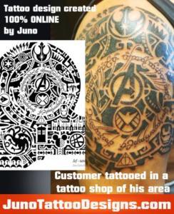 customers tattooed junotattoodesigns.com-polynesian-j