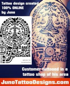 customers tattooed junotattoodesigns.com-polynesian
