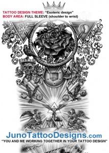 esoteric_2_full_sleeve_tattoo_design