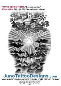 esoteric_full_sleeve_tattoo_design