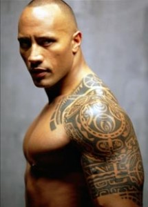 polynesian tattoo dwayne johnson the rock