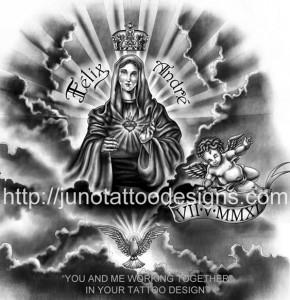 religious_virgin_Mary_tattoo_design